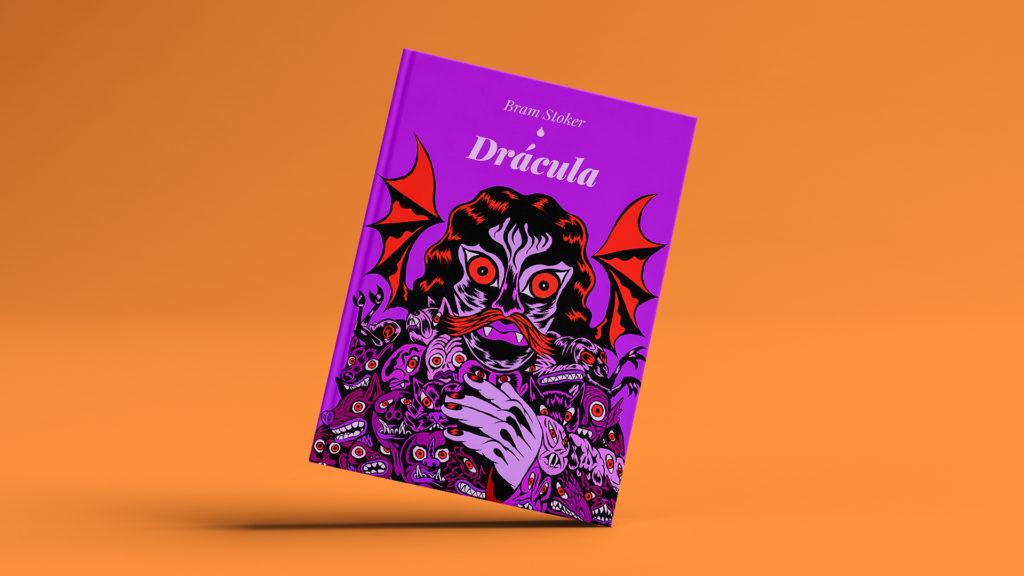 "Portada de ""Drácula""."